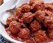 Meatballs (bite size)