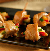 Chicken Hibachi Mini Skewers